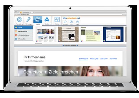 Webvisitenkarte Net Kostenlose Homepage Erstellen