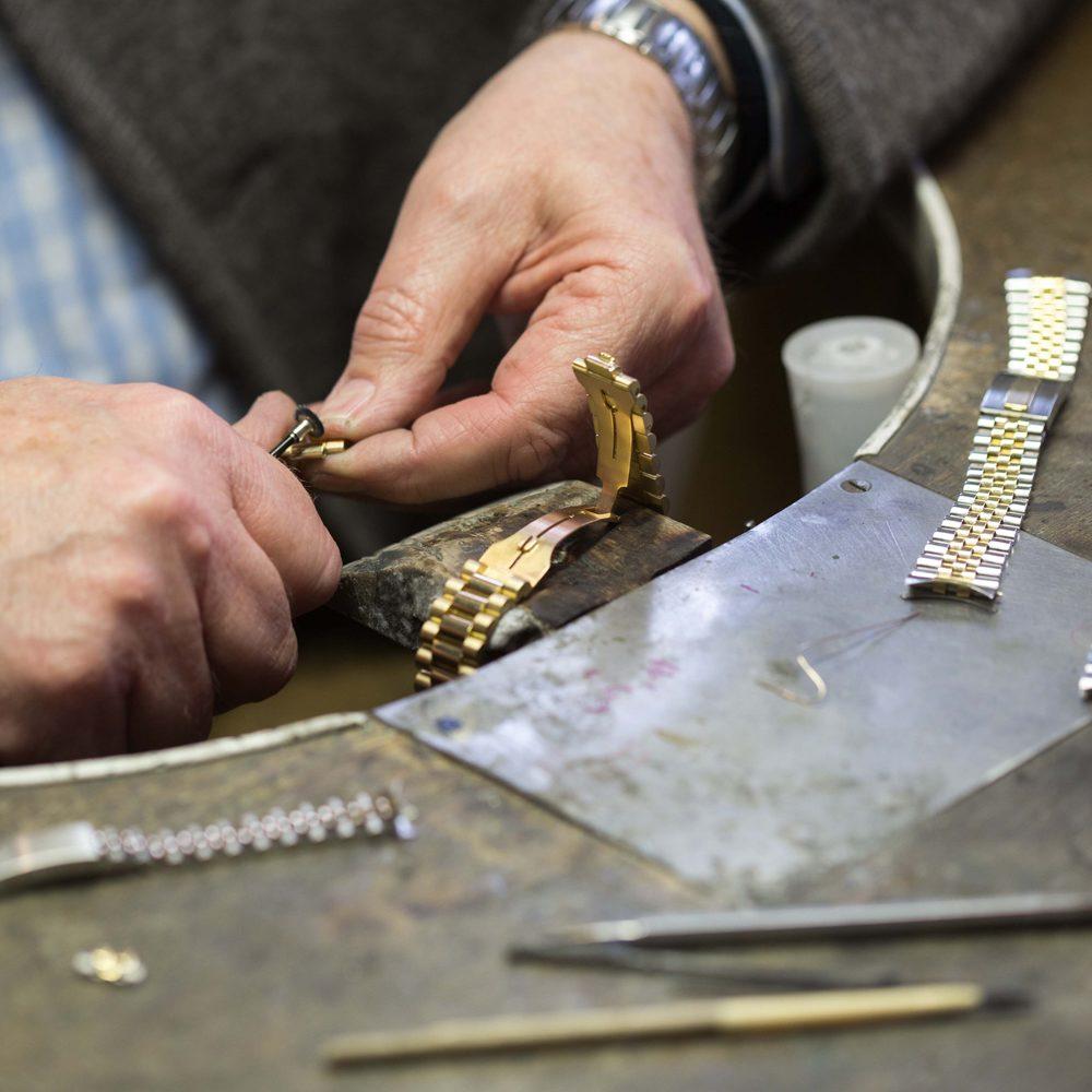 Armband Restaurierung in der Goldschmiede Beste