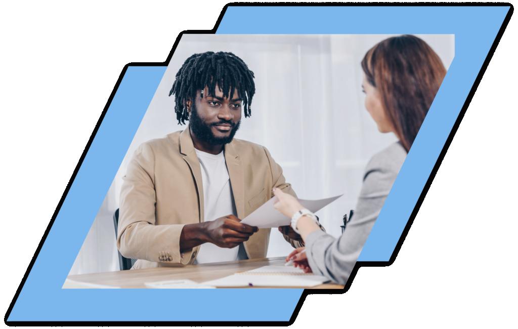 advisor referring a client