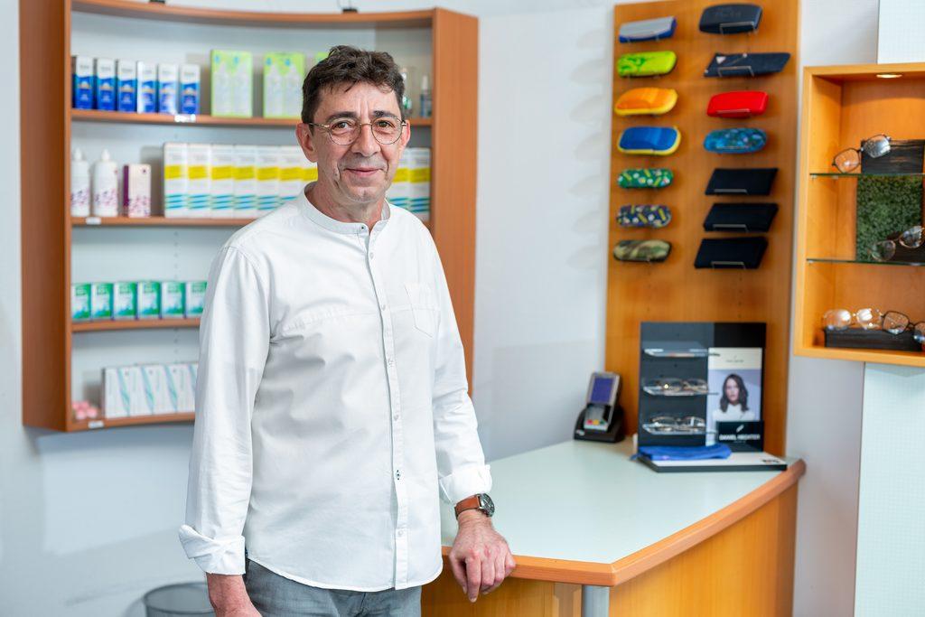 Inhaber Augenoptik Eck