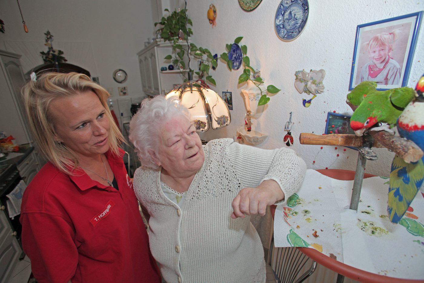 Ambulante Betreuung durch das Pflegeteam Hamel