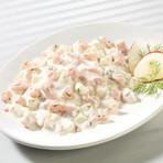 Lachsforellen Salat