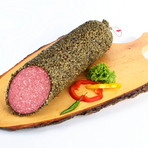 Deutsche Salami - grüner Pfeffer