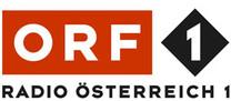 Hier ist das Logo des ORF - Radio Österreich zu sehen.