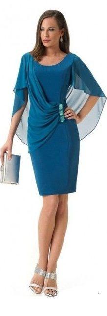 00d7f04b4d77 Elegantné šaty pre moletky - dunea