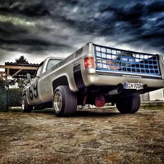 Vollfolierung Chevy C10 Monster 6