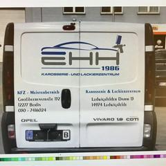 Firmen-Paket Transporter & Beschriftung 13