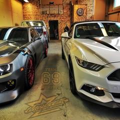 Vollfolierung Mustang Coupé 2