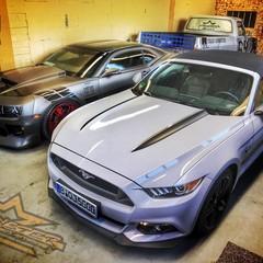 Vollfolierung Mustang Coupé 1