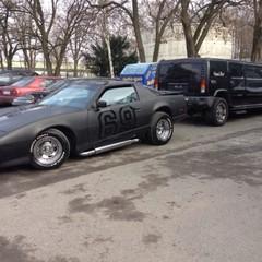 Vollfolierung Pontiac Firebird 2