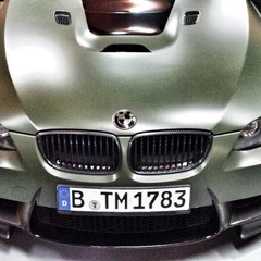 Vollfolierung BMW M3 Cabrio 1