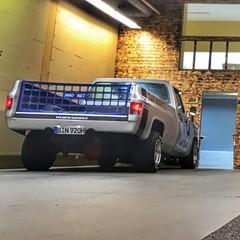 Vollfolierung Chevy C10 Monster 7