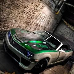 Vollfolierung Camaro Cabrio 1