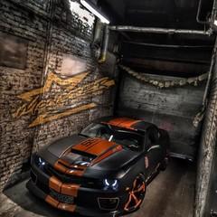 Vollfolierung Camaro SS Monster 5