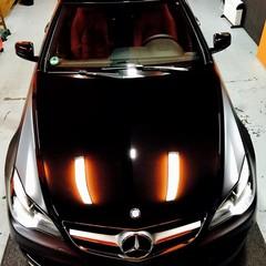 Vollfolierung Mercedes CLK 2