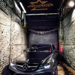 Vollfolierung Mercedes CLK 3