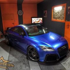 Vollfolierung Audi TTRS