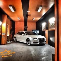 Vollfolierung Audi A5 Perlmutt