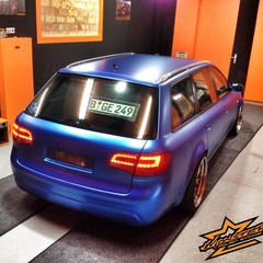 Vollfolierung Audi A6 Avant