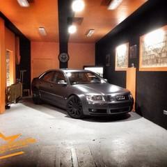 Vollfolierung Audi A8
