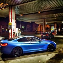 Vollfolierung BMW 6er Blau 3
