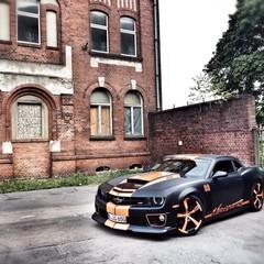 Vollfolierung Camaro SS Monster 1
