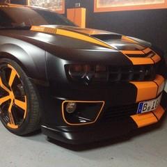 Vollfolierung Camaro SS Monster 2