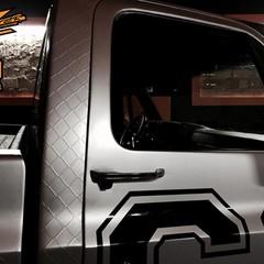 Vollfolierung Chevy C10 Monster 3