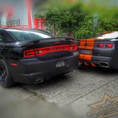 Vollfolierung Dodge Charger SRT8 1