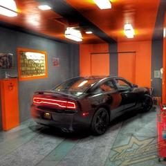 Vollfolierung Dodge Charger SRT8 3