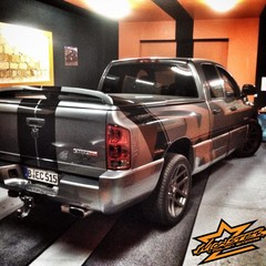 Vollfolierung Dodge Ram SRT10 1