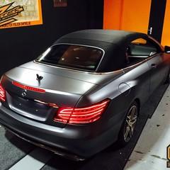 Vollfolierung Mercedes CLK 1