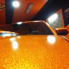 Vollfolierung Mustang Cabrio 2