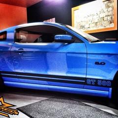 Vollfolierung Mustang GT500 4