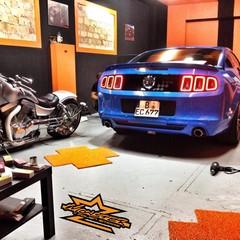 Vollfolierung Mustang GT500 5