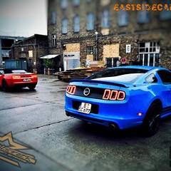 Vollfolierung Mustang GT500 6