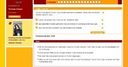 Hier ist ein Screenshot zu sehen (roter Quiz).