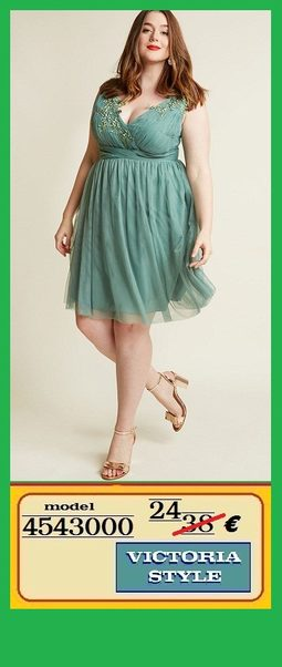 Elegantne Haljine Za Punije Dame Victoria Style Rs