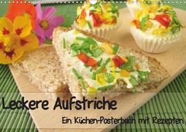 Heike Rau: Leckere Aufstriche - Ein Küchen-Posterbuch mit Rezepten