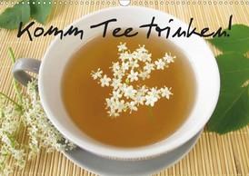 Heike Rau: Komm Tee trinken! - Ein Posterbuch mit zwölf stimmungsvollen Fotos von Tee und Teekräutern