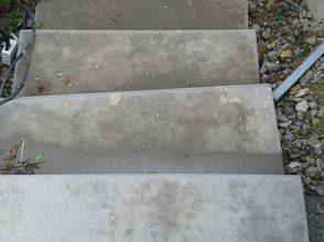 Auftrittsfläche der einzelnen Stufen variieren je nach Lauflinie