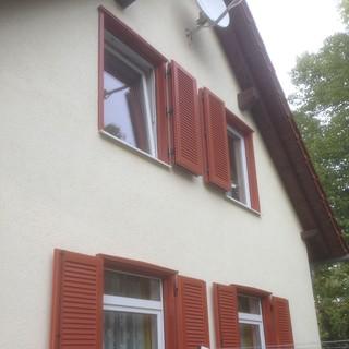 Fensterläden - Tischlerei Schenk