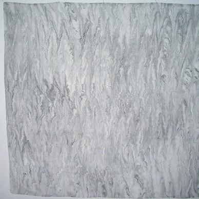 MT 2, Crepe Satin  06, ca. 90x90, marmoriert,