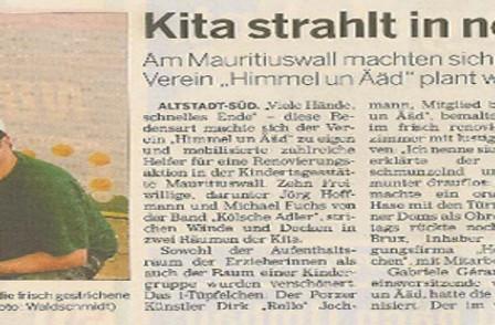 Quelle: Kölnische Rundschau - mit freundlicher Genehmigung