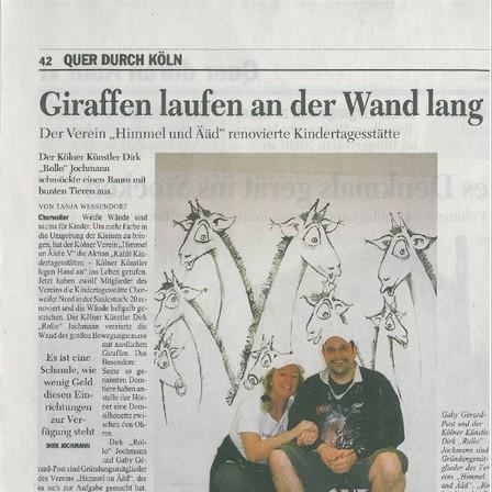 Quelle: Kölner Stadt Anzeiger vom 19.03.2009 -mit freundlicher Genehmigung