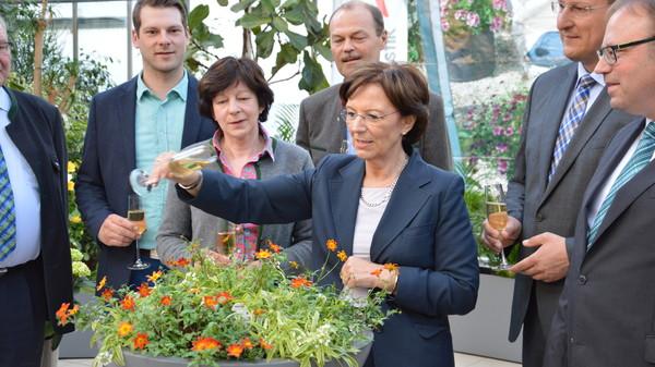 Patin Staatsministerin Emilia Müller