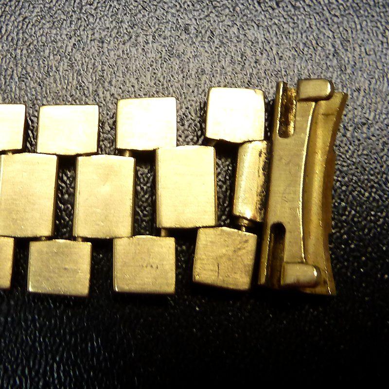 Gebrochenes Rolex-Armband in Gold