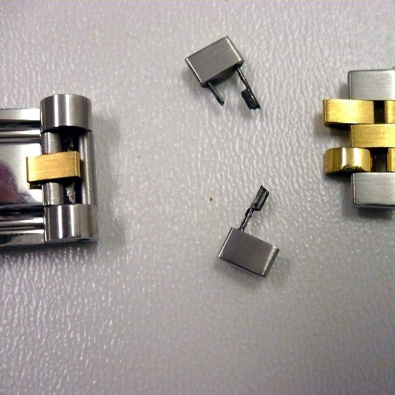kaputter Rolex-Armband Verschluss