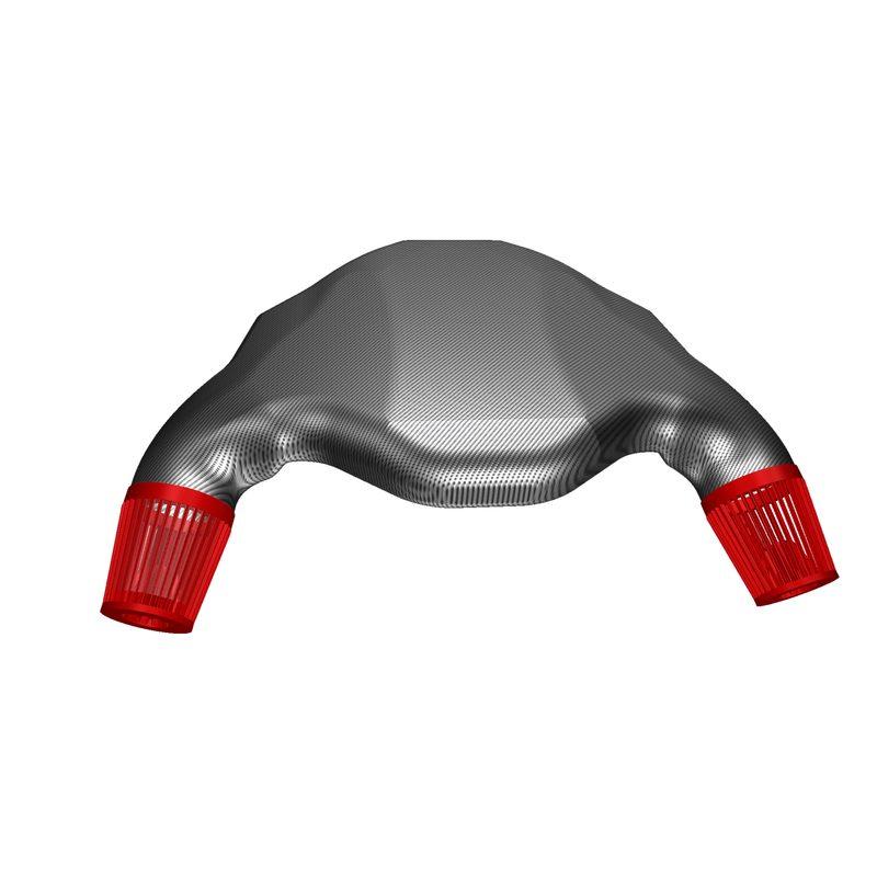 CAD Konstruktion Carbon Airbox BMW M3 e92 S65