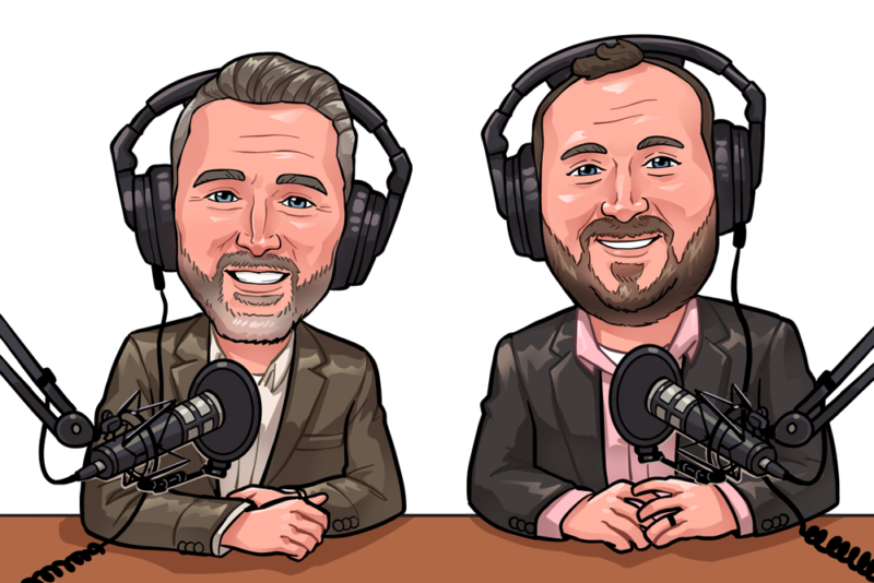 Podcast Cartoon logo
